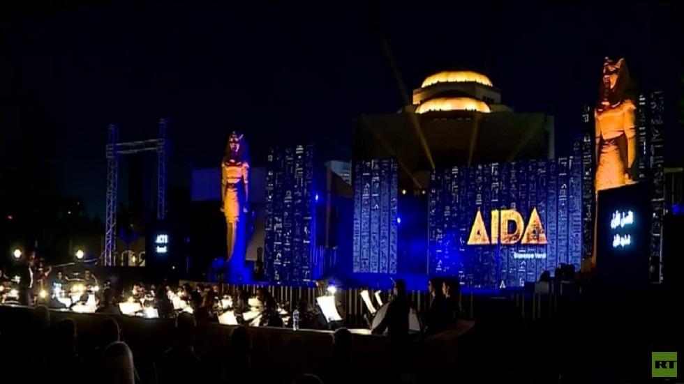 عرض أوبرا عايدة في القاهرة