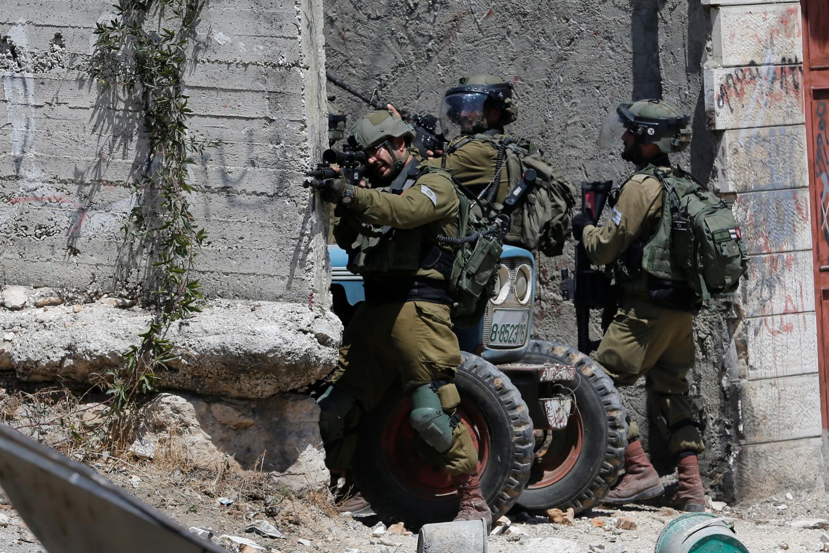 عناصر من الجيش الإسرائيلي