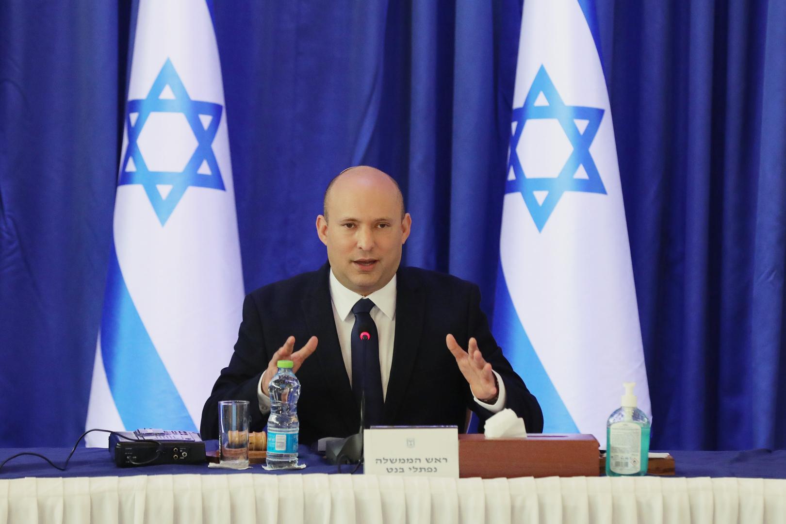رئيس وزراء إسرائيل يتحدث عن
