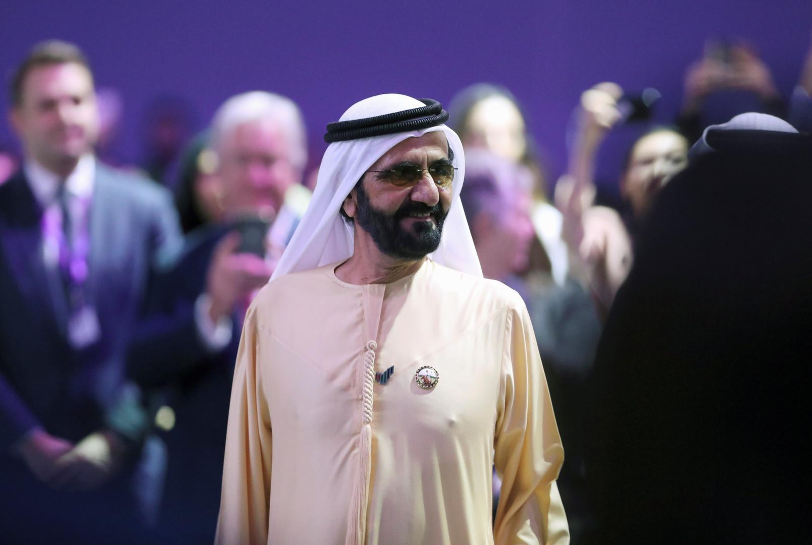 محمد بن راشد آل مكتوم، رئيس مجلس الوزراء الإماراتي، حاكم دبي