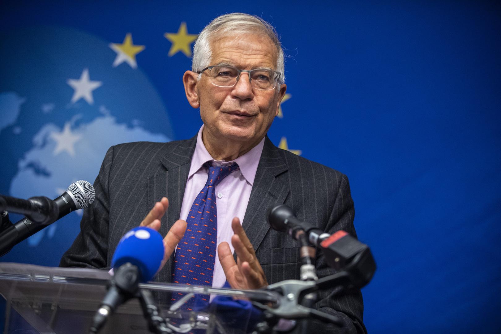الاتحاد الأوروبي يحث كوسوفو وصربيا على خفض التصعيد ويحذر من استفزازات جديدة