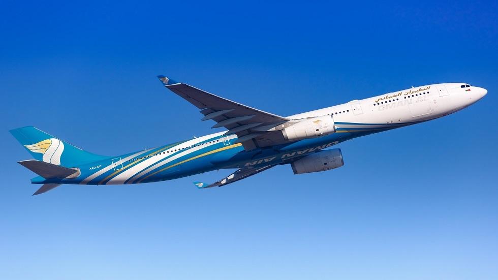 طائرة تابعة لشركة الطيران العماني
