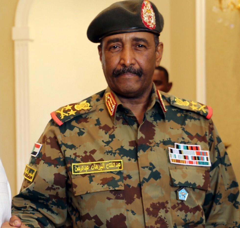 رئيس المجلس العسكري في السودان عبد الفتاح البرهان