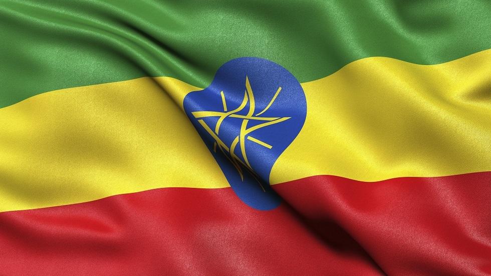 العلم الإثيوبي