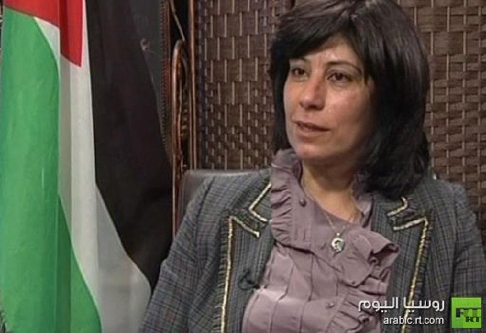 الأسيرة الفلسطينية المحررة خالدة جرار