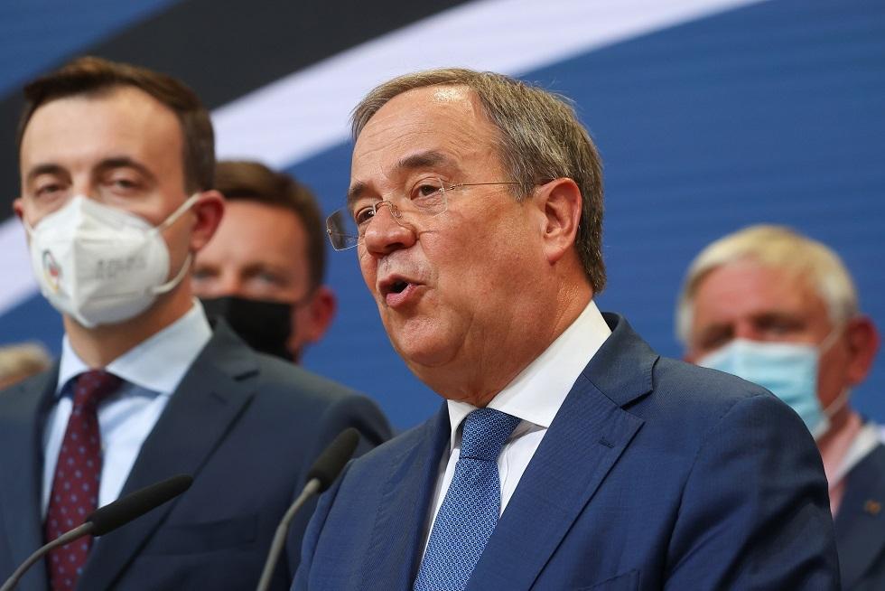 انتخابات ألمانيا.. لاشيت يتعهد بتشكيل حكومة يقودها المحافظون