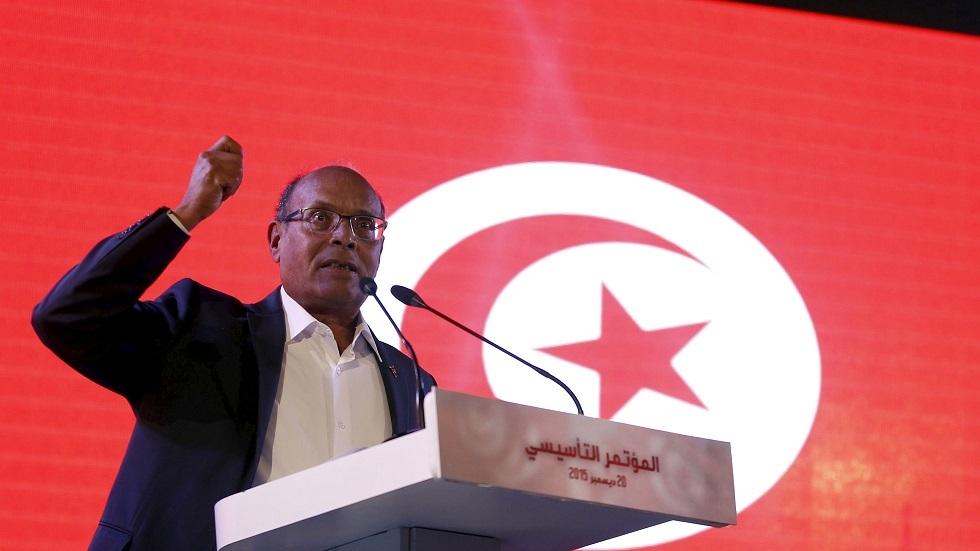 الرئيس التونسي الأسبق منصف المرزوقي
