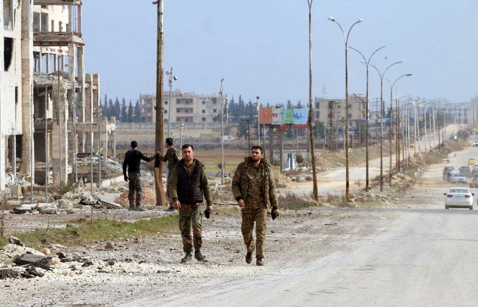 الدفاع الروسية: إصابة 5 جنود سوريين إثر اشتباك مع مسلحين في حلب