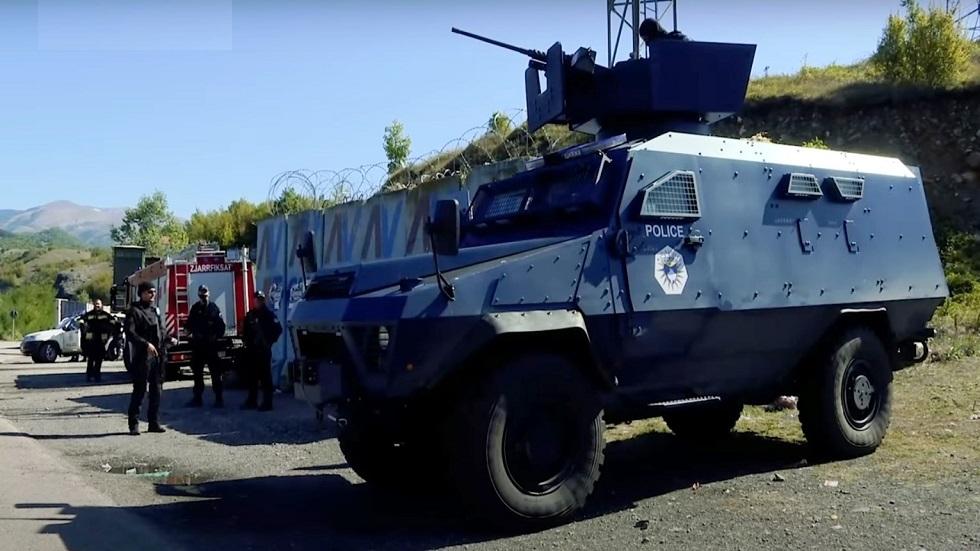 صربيا تستنفر قواتها على الحدود مع كوسوفو (فيديو)