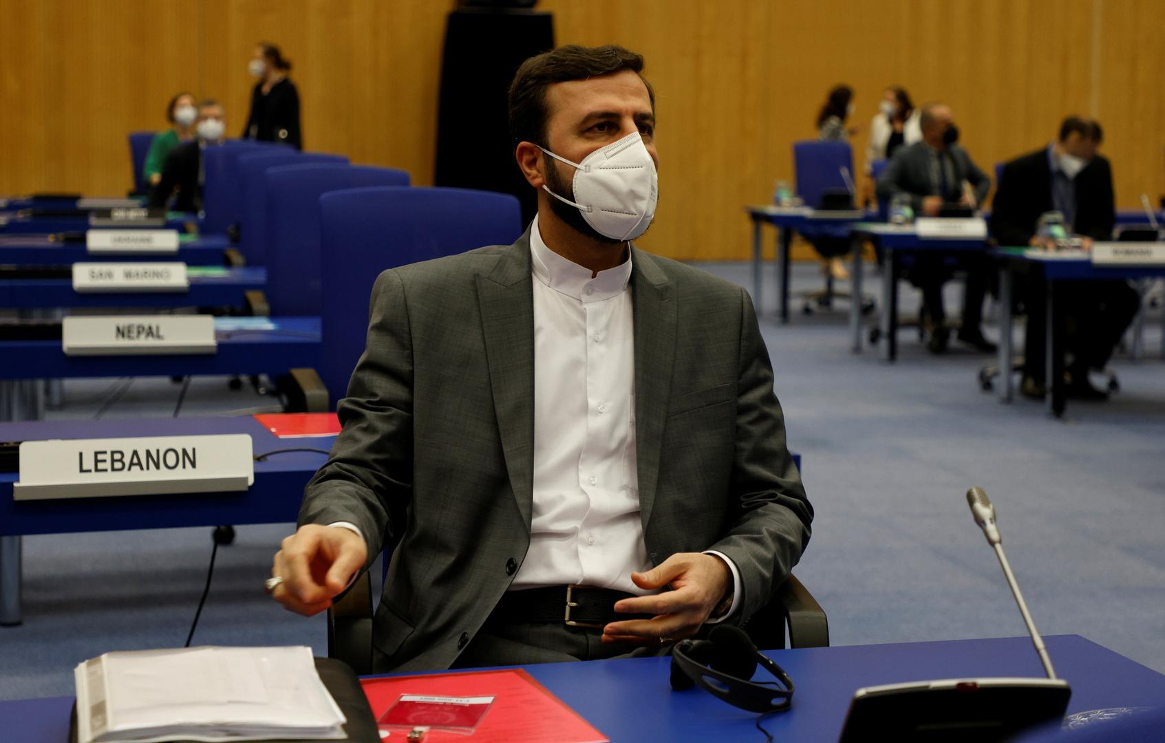 مندوب إيران لدى المنظمات الدولية في فيينا، كاظم غريب آبادي