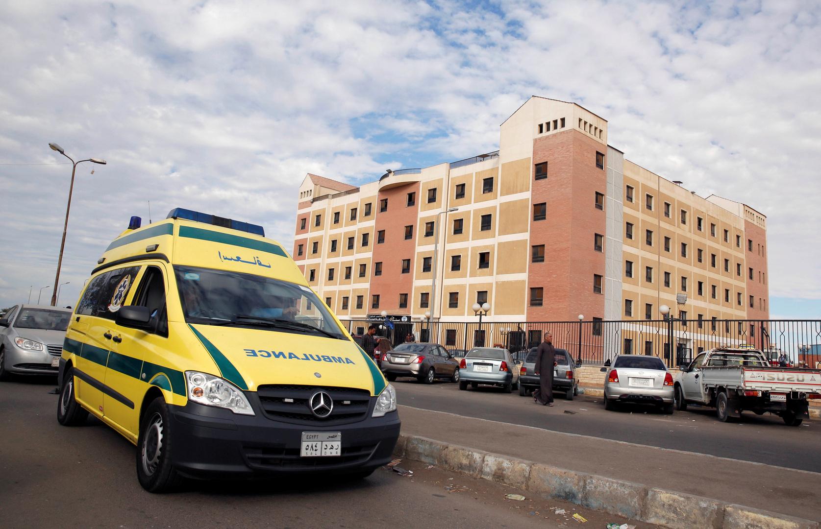 سيارة إسعاف في مصر