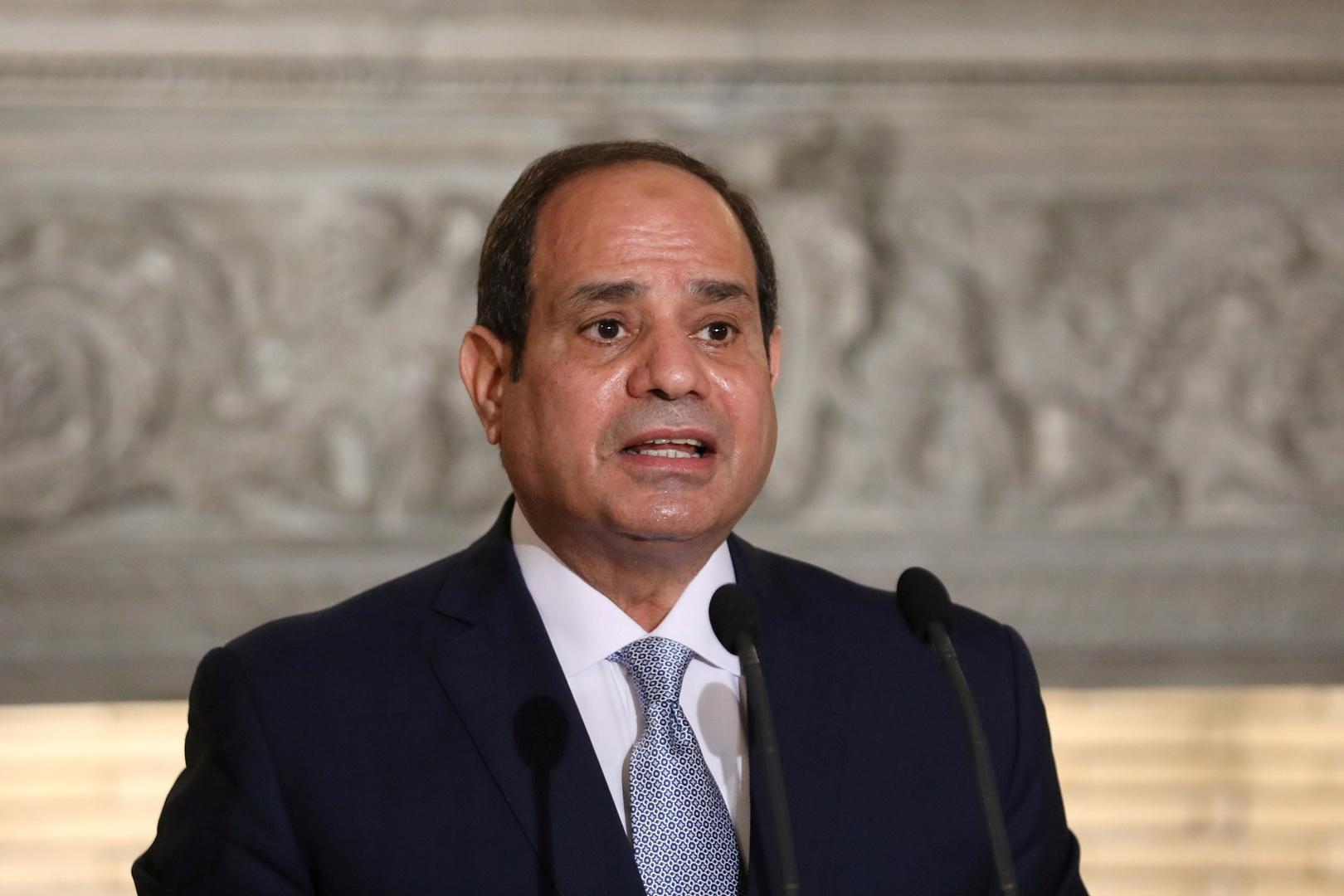 الرئيس المصري يفتتح أضخم محطة معالجة مياه في العالم