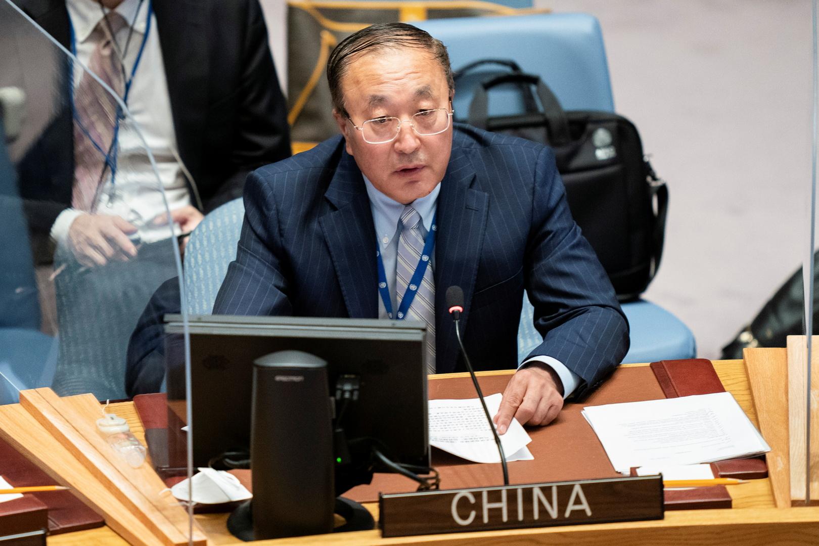 المندوب الصيني الدائم لدى الأمم المتحدة، تشانغ جيون