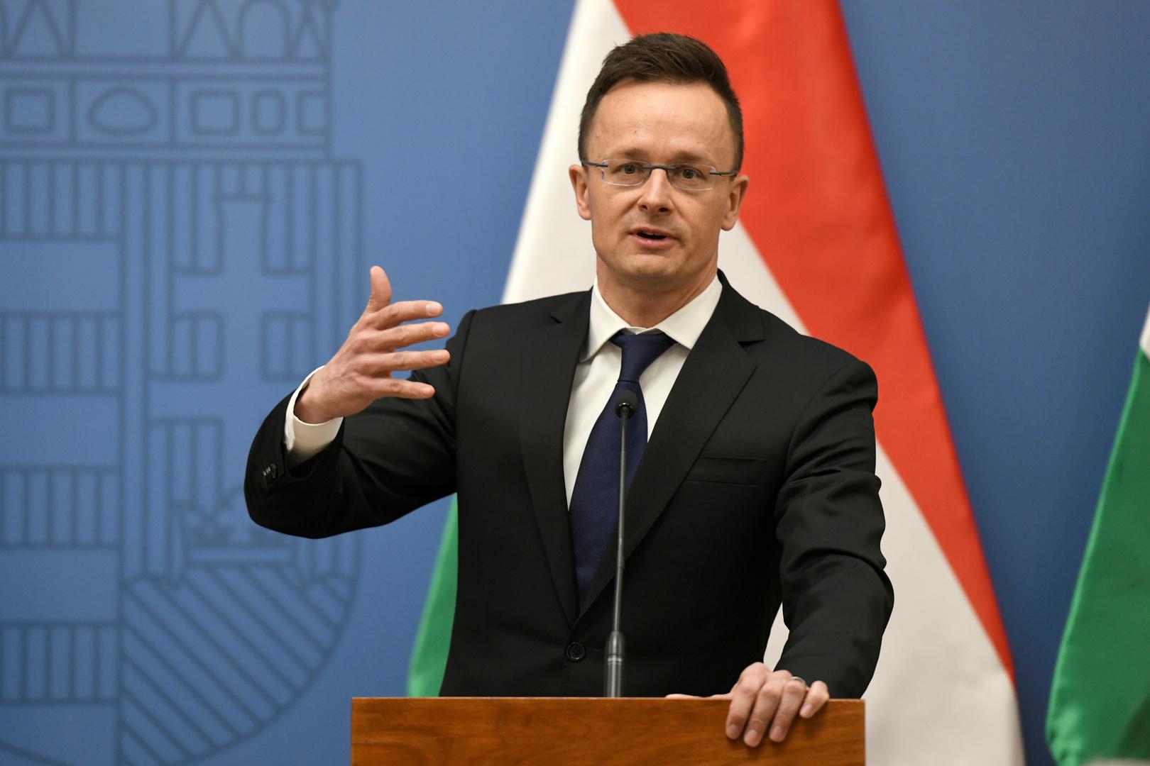 هنغاريا ترفض الانتقادات الأوكرانية لصفقتها مع