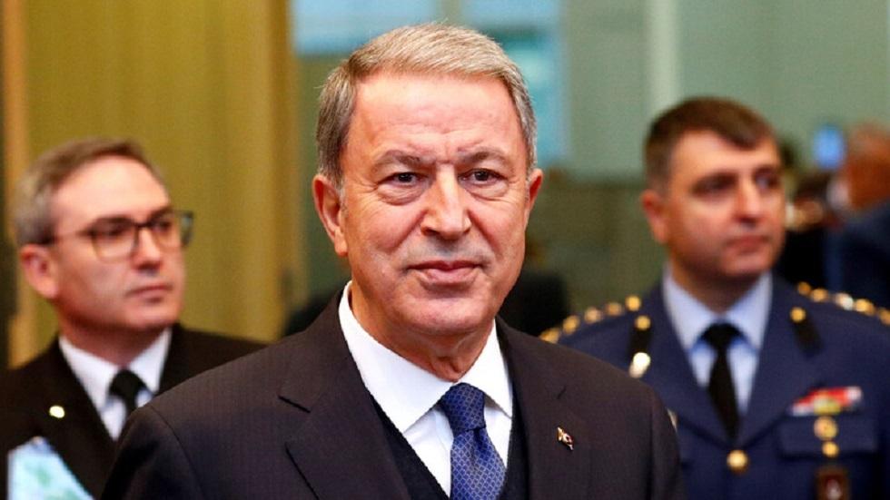 وزير الدفاع التركي:
