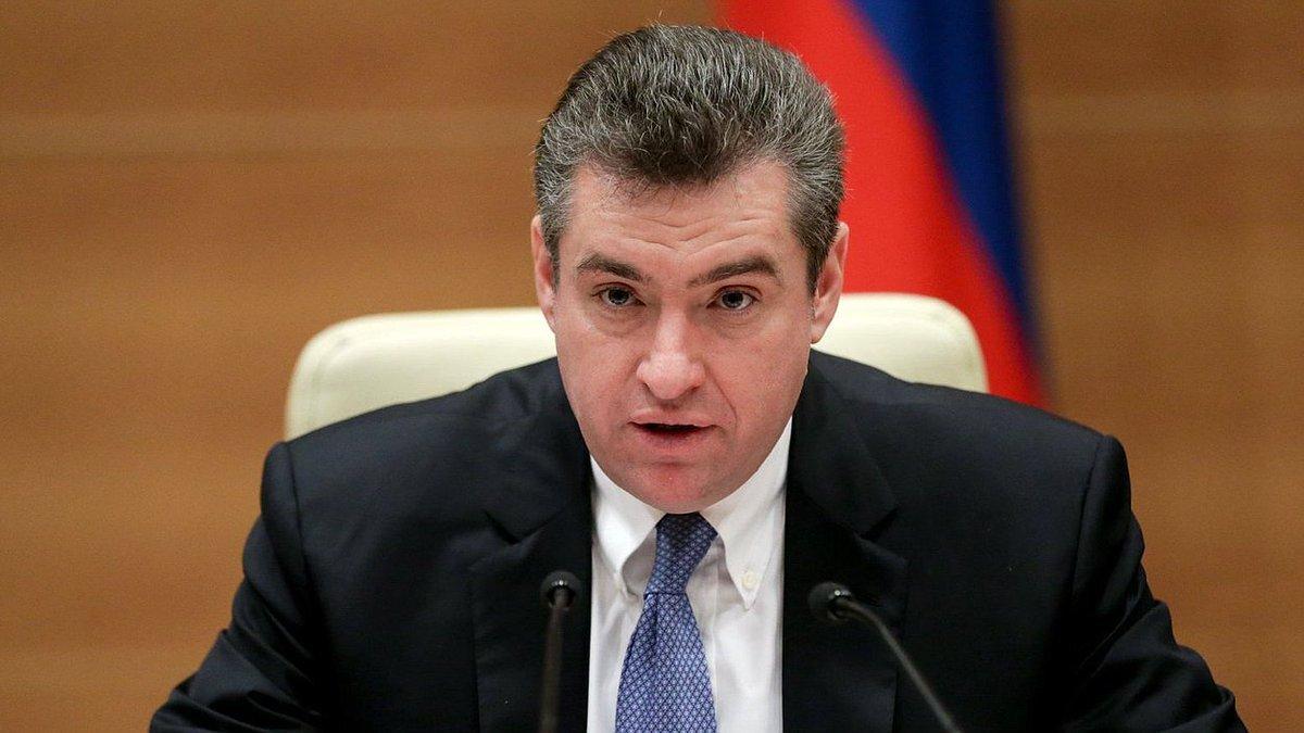 رئيس لجنة العلاقات الدولية بمجلس الدوما الروسي ليونيد سلوتسكي