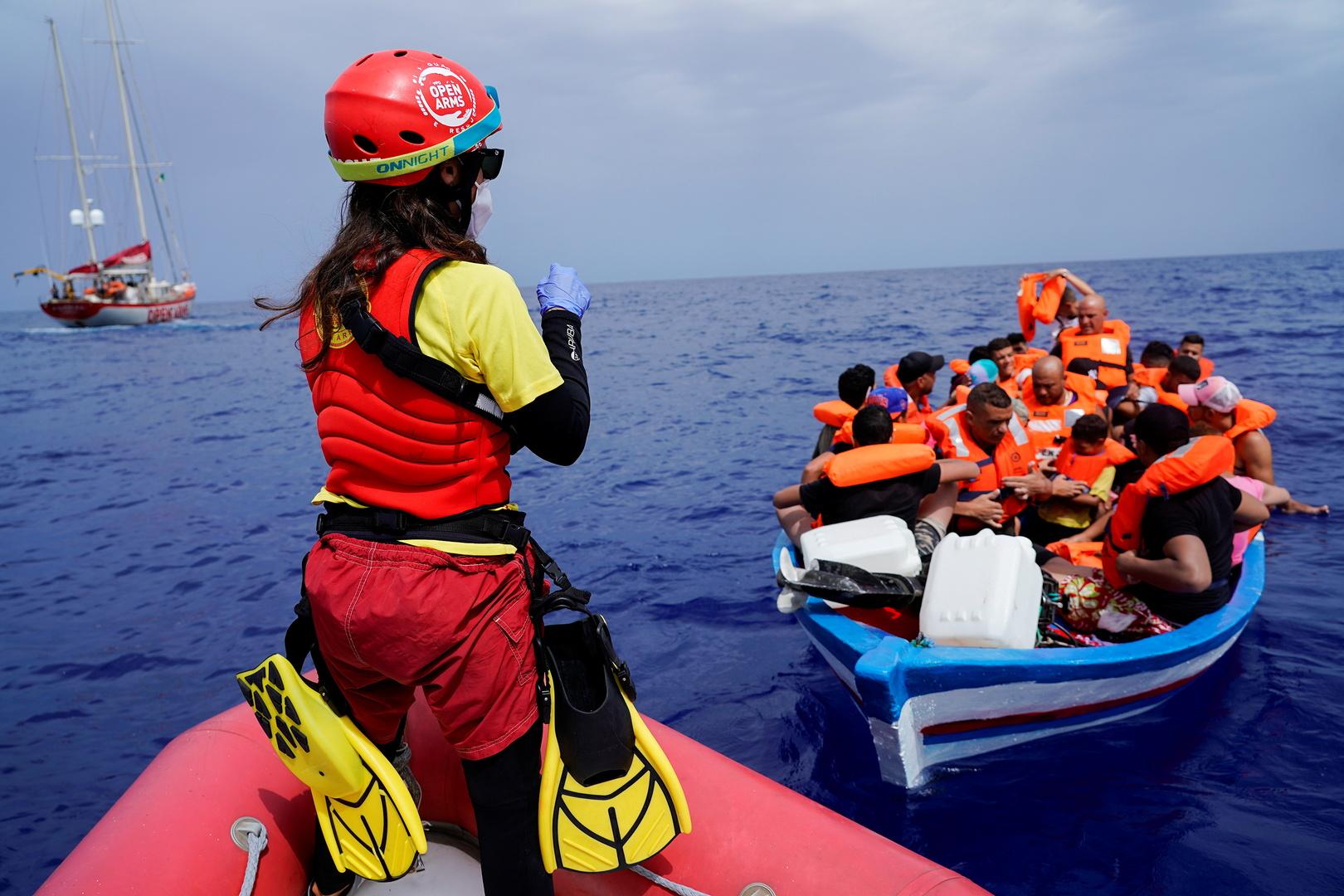 وصول أكثر من 500 مهاجر إلى جزيرة لامبيدوزا الإيطالية