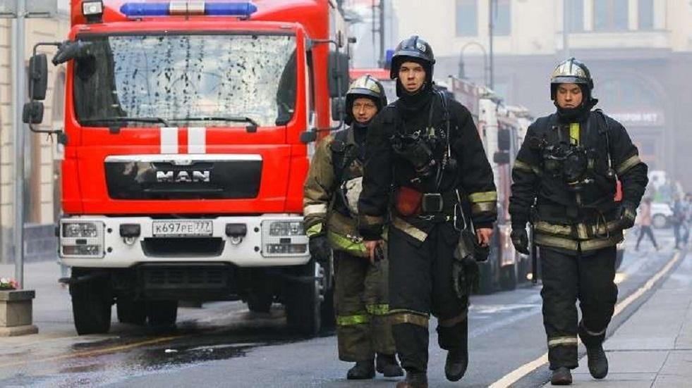 مصرع 3 أطفال في حريق بمبنى سكني في مقاطعة سمارا الروسية