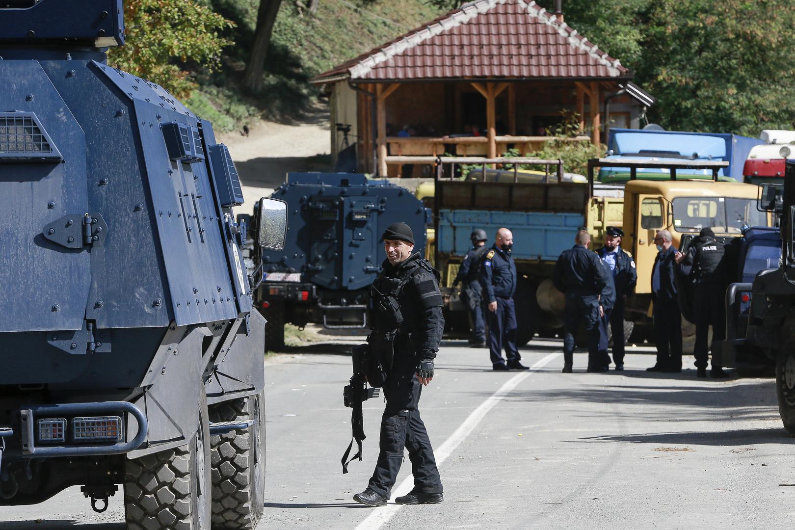 الخارجية الروسية تعبر عن قلقها إزاء تفاقم الوضع في إقليم كوسوفو