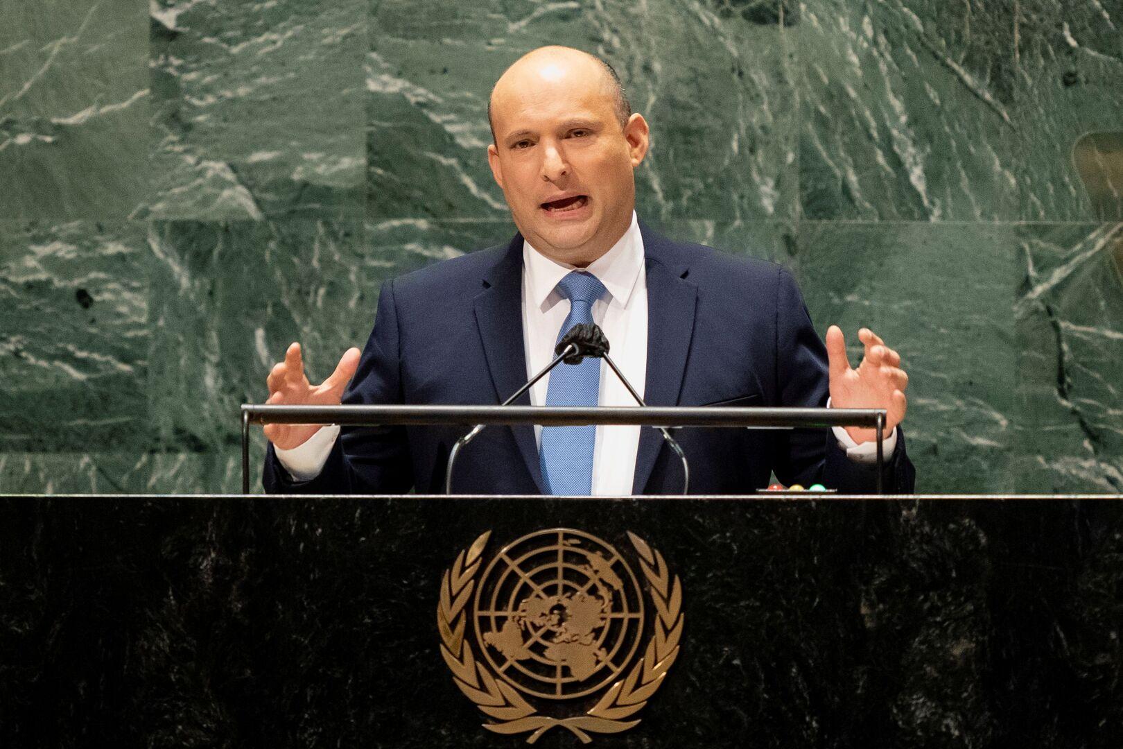 بينيت: المؤسسات الدولية غير عادلة تجاهنا