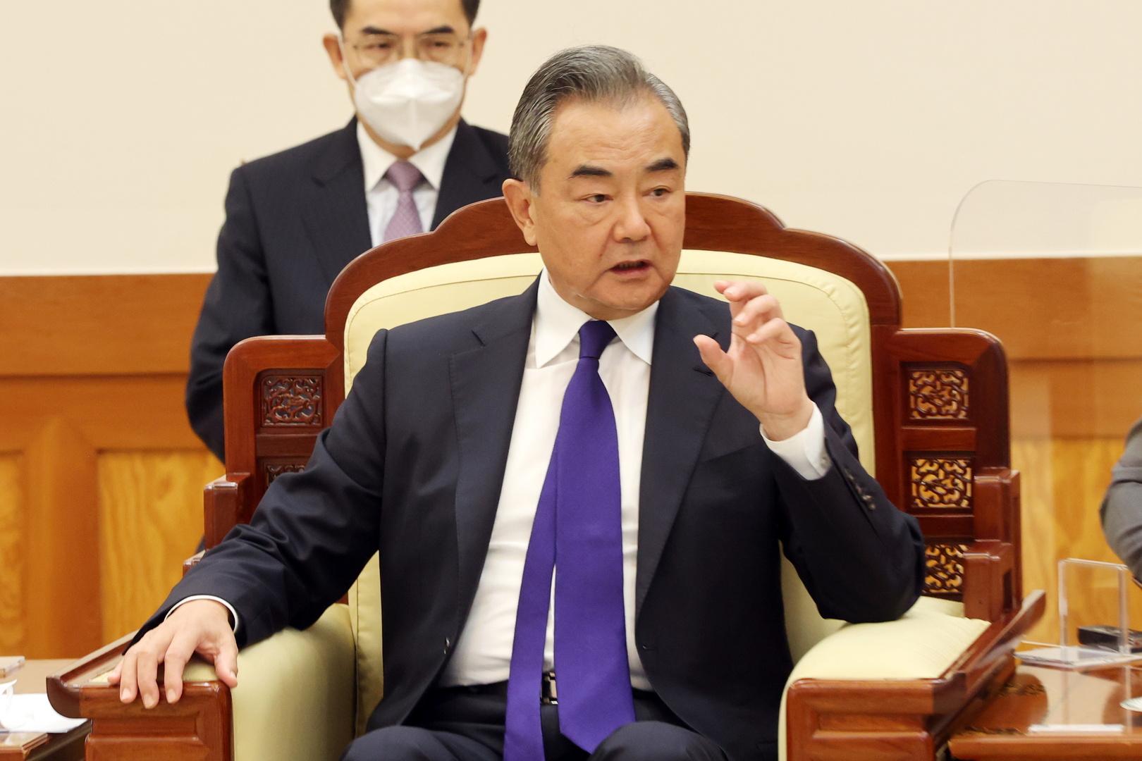 وزير الخارجية الصيني وعضو مجلس الدولة وانغ يي