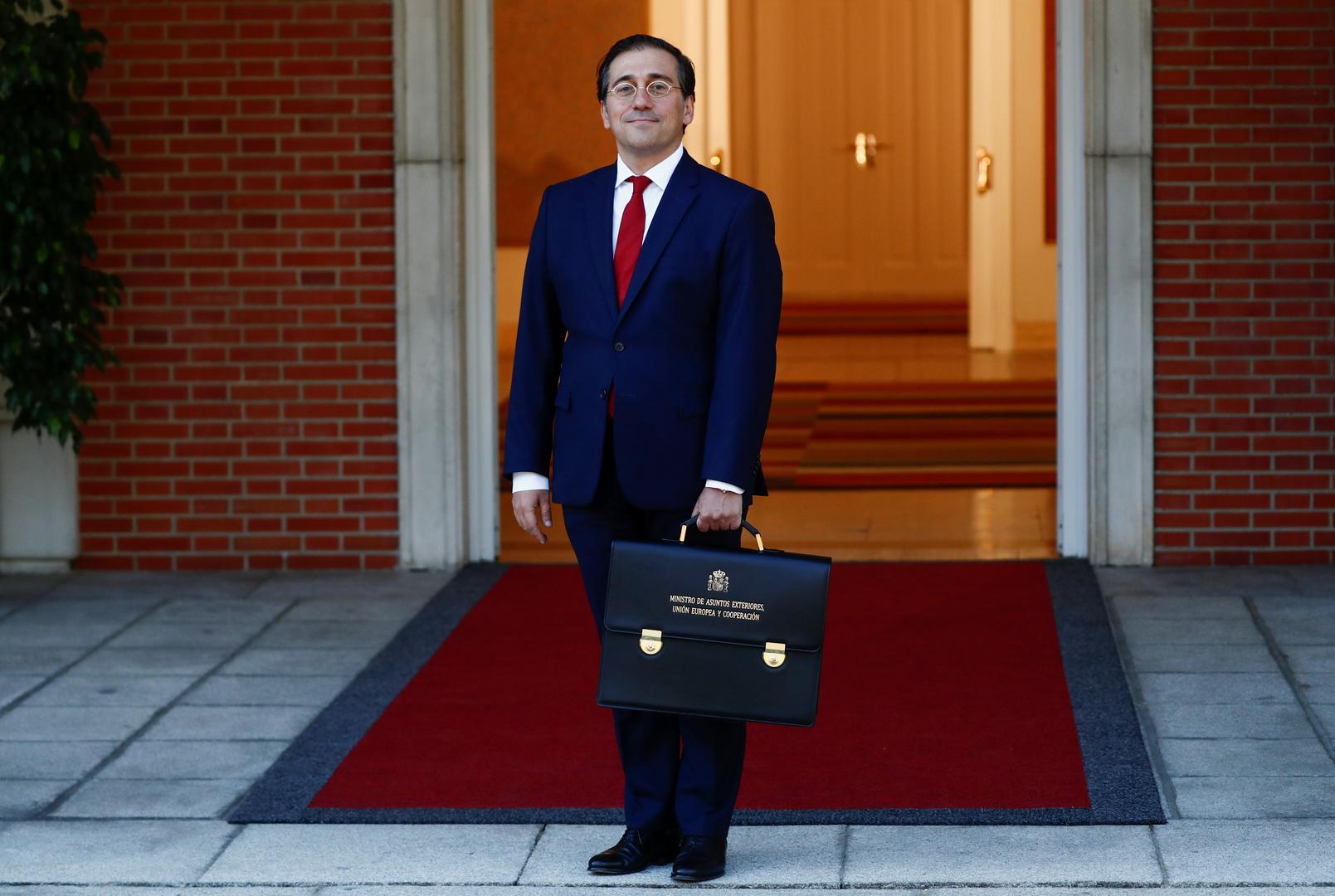 وزير الخارجية الإسباني يزور الجزائر لبحث ملف أنبوب الغاز العابر للمغرب