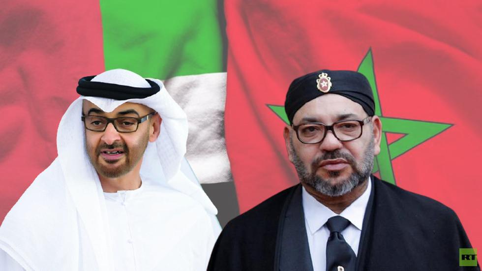 الشيخ محمد بن زايد يعزي العاهل المغربي