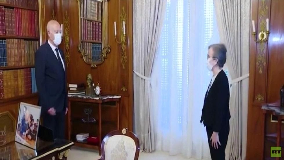 سعيد يكلف نجلاء بودن بتشكيل الحكومة التونسية