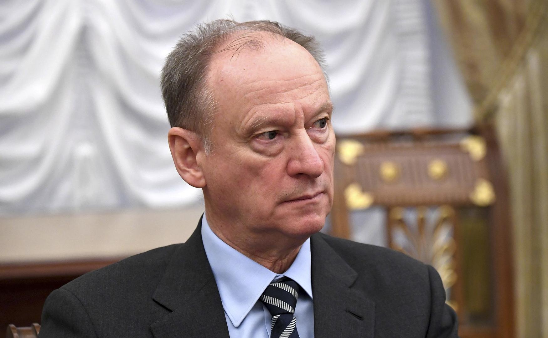 سكرتير مجلس الأمن القومي الروسي نيكولاي باتروشيف
