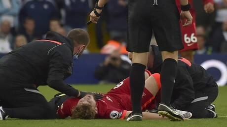 لاعب ليفربول إليوت يخضع لعملية جراحية في الكاحل