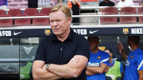برشلونة يدرس إقالة كومان.. ورئيس النادي يمتنع لسببين