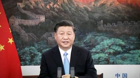 """رئيس الصين: على """"شنغهاي للتعاون"""" منع التدخل في شؤون المنطقة ودفع """"طالبان"""" لتشكيل حكومة معتدلة"""