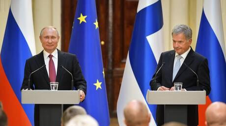 رئيس فنلندا يشكر بوتين على تقديم روسيا المساعدة في تنفيذ الإجلاء من أفغانستان