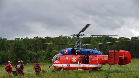 البحث عن 9 مفقودين من البعثة الجغرافية الروسية في إقليم كراسنويارك الروسي