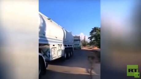 وكالة إيرانية: قافلة خامسة من المازوت الإيراني تتجه إلى لبنان