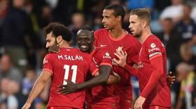 ليفربول يهزم ليدز يونايتد في مباراة تاريخية لنجمه صلاح