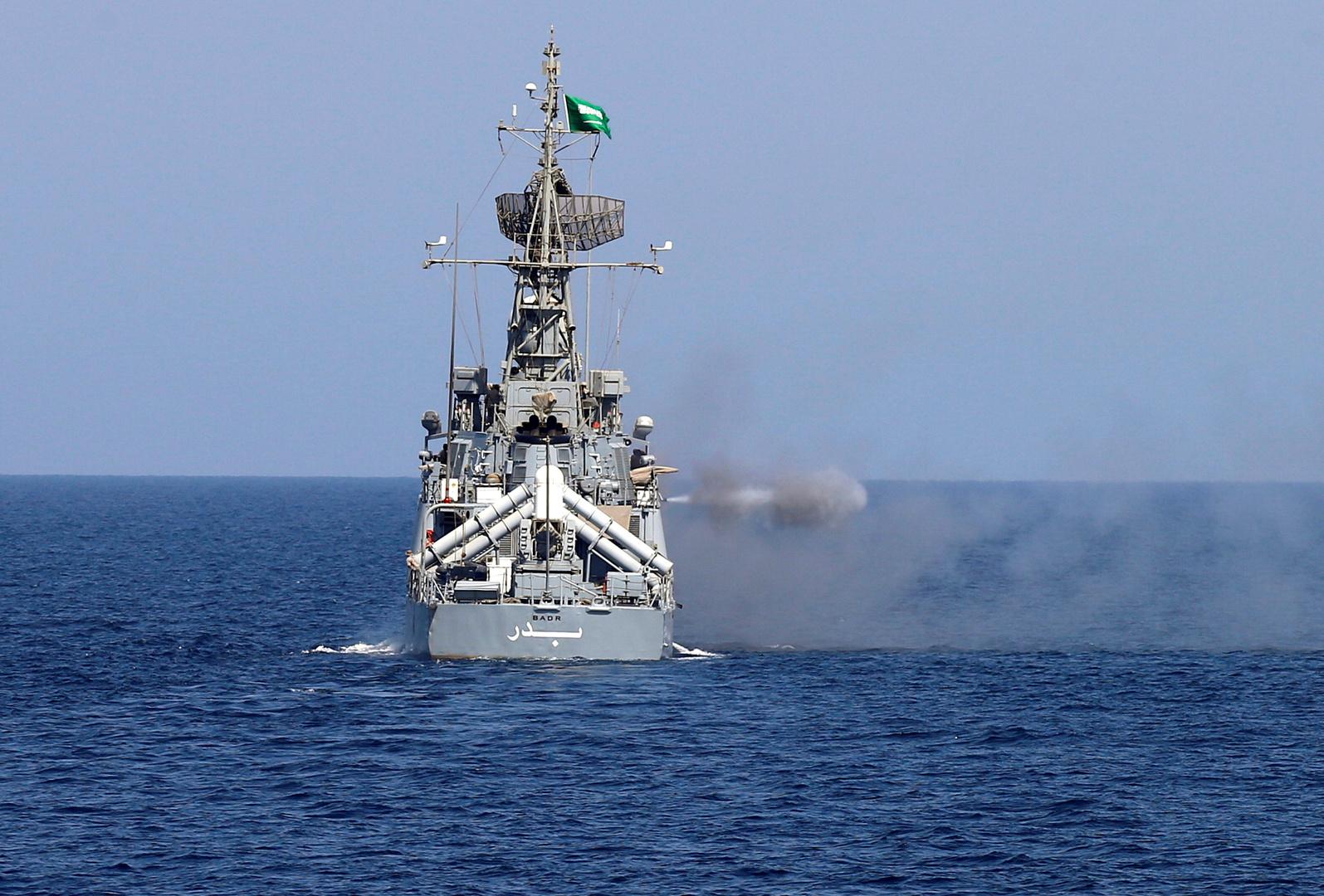 مركب حربي سعودي