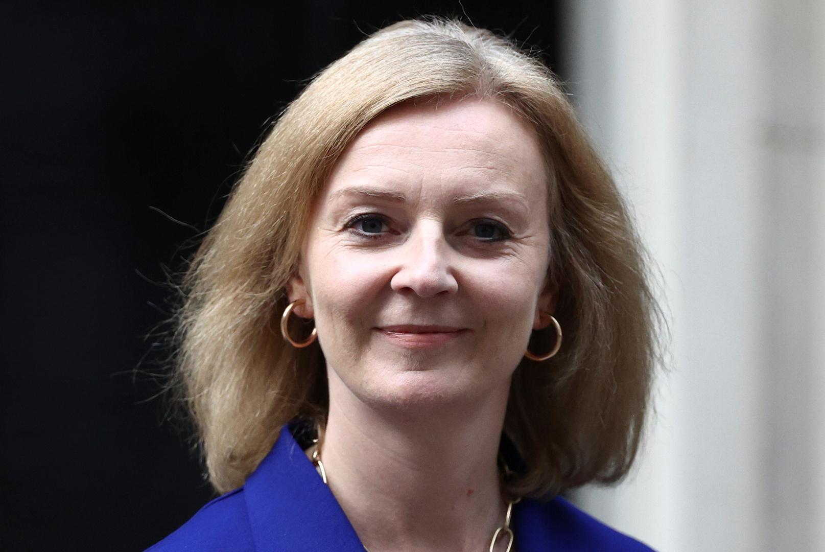 وزارة الخارجية البريطانية إليزابيث تراس