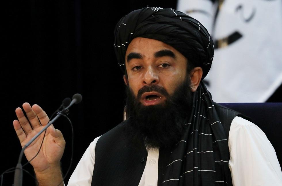 المتحدث باسم حركة طالبان الأفغانية ذبيح الله مجاهد