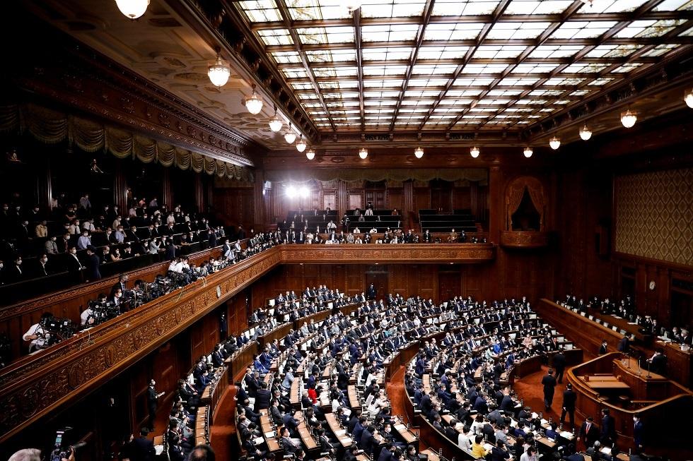 البرلمان الياباني 4/10/2021