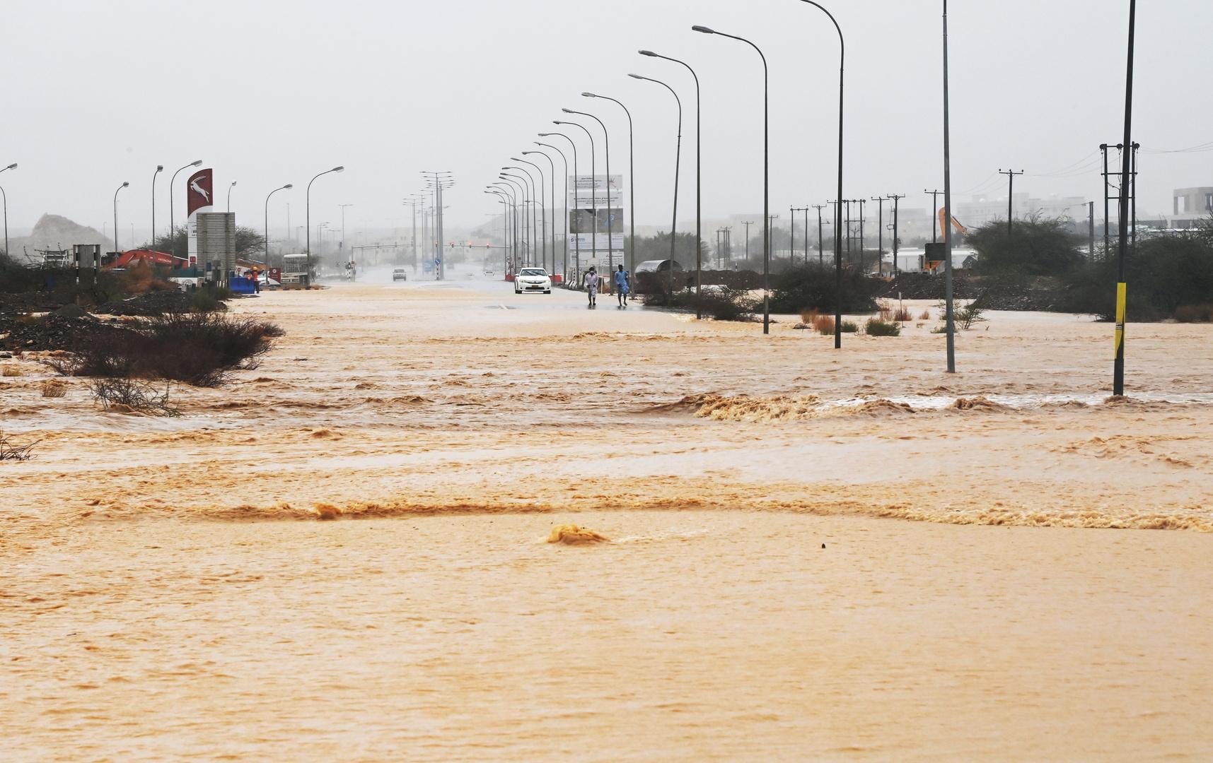 فيضانات بسبب الإعصار المداري