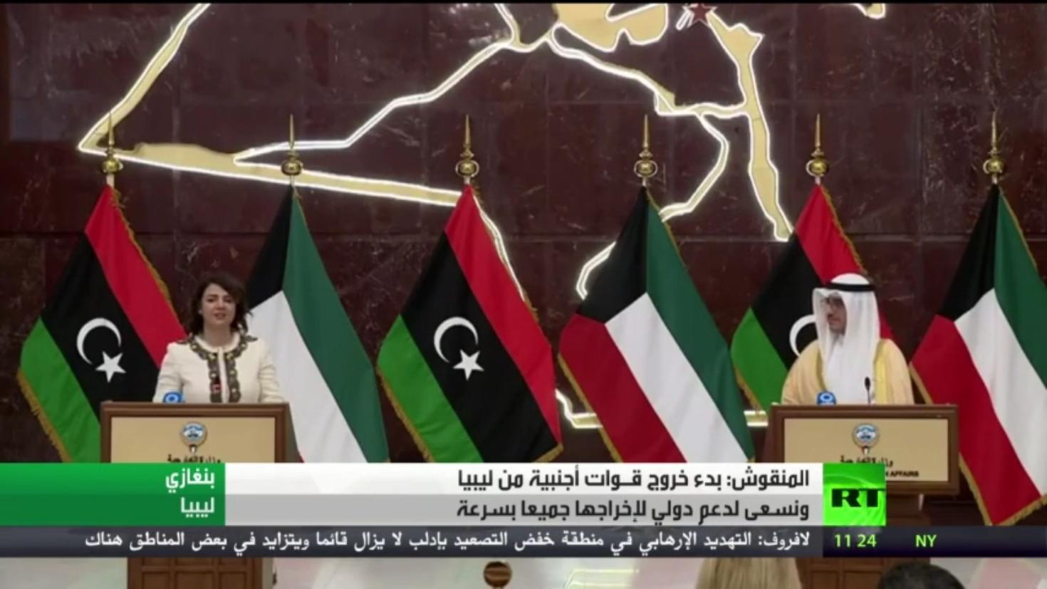 ليبيا.. بداية خروج المقاتلين الأجانب