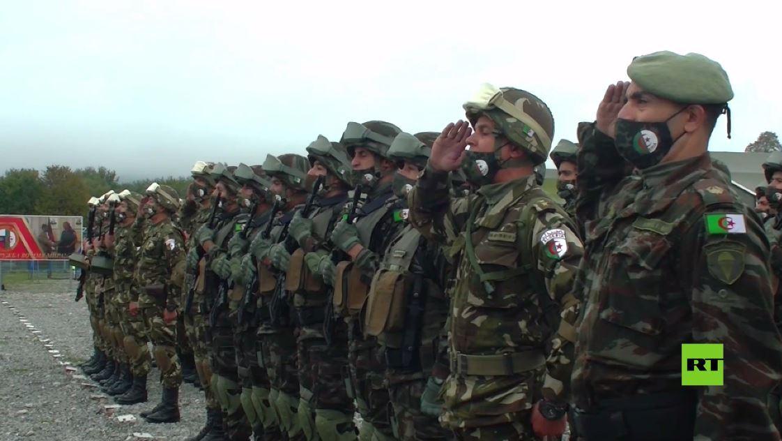 بالفيديو.. مراسم افتتاح أولى مناورات عسكرية روسية جزائرية مشتركة في أوسيتيا الشمالية