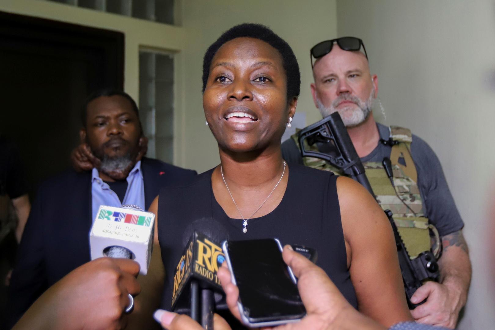 مارتين مويز، أرملة رئيس هايتي جوفينيل مويز