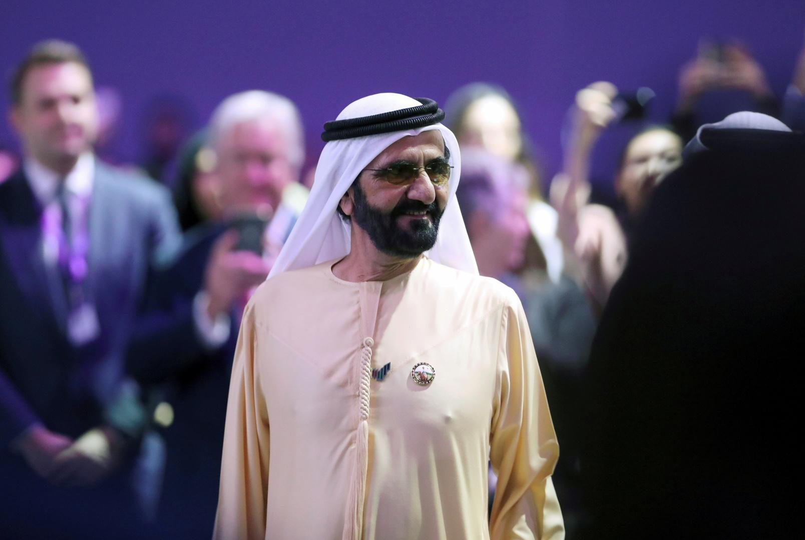 حاكم دبي ورئيس الوزراء الإماراتي، الشيخ محمد بن راشد آل مكتوم