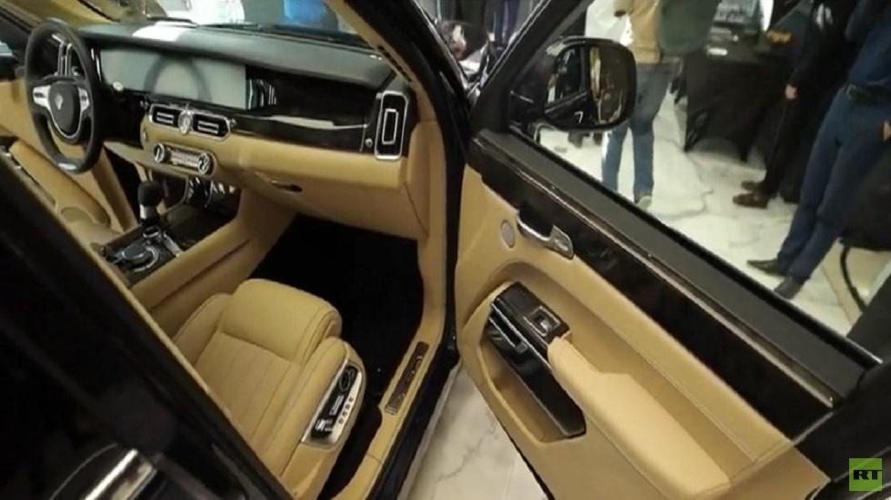 """افتتاح منصة جديدة لاستعراض سيارات """"أوروس"""""""