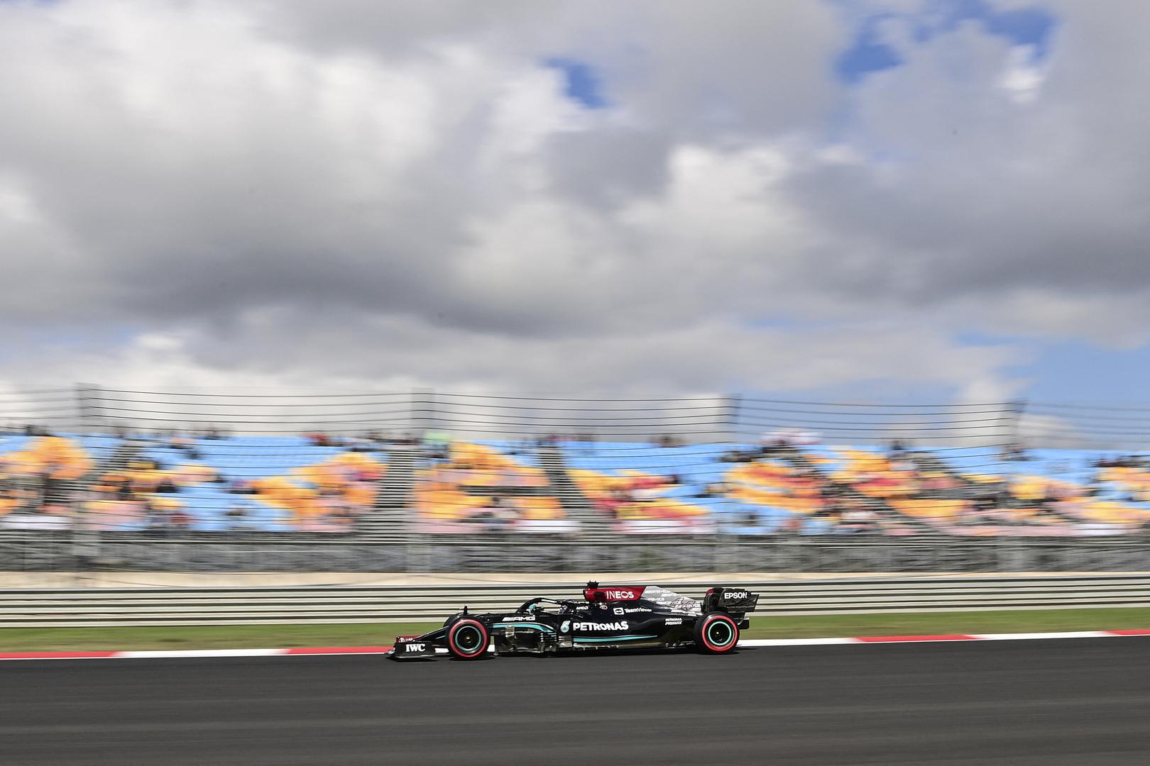 هاميلتون الأسرع بجولة التجارب الحرة الأولى لسباق تركيا