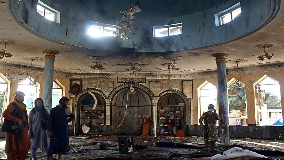 تفجير انتحاري يستهدف مسجدا للشيعة في قندوز بأفغانستان
