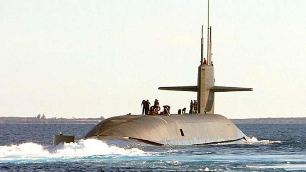الغواصة النووية الأمريكية
