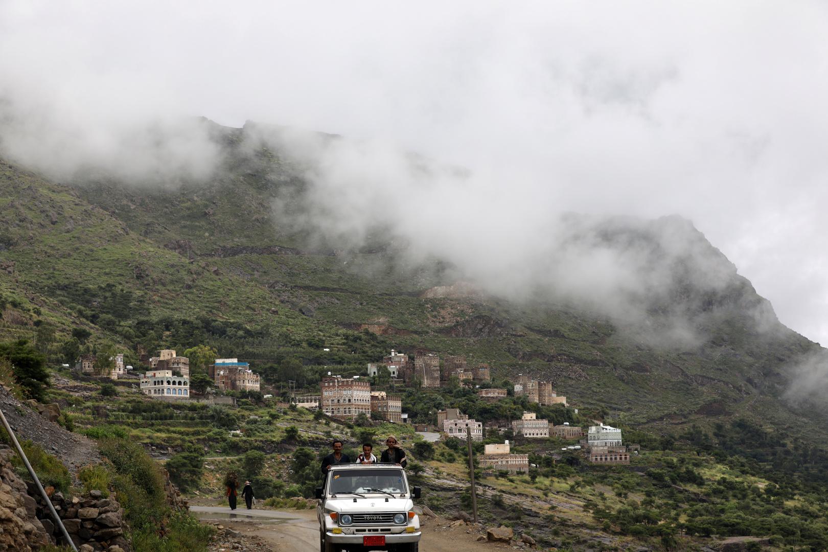 جبال في اليمن